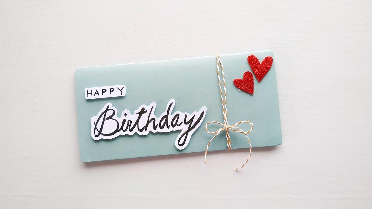 beautiful birthday card making  diy birthday card ideas
