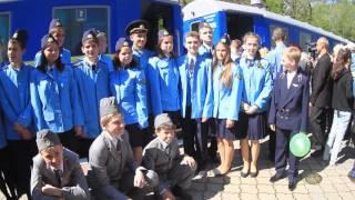 Детская железная дорога в Днепре открыла 80-й сезон