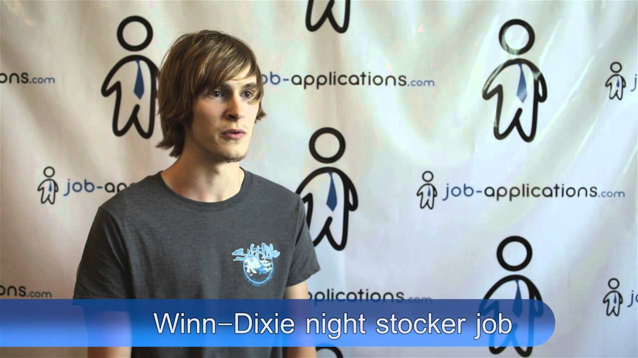 winn dixie interview night stocker