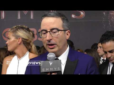 Emmy winner John Oliver on doing comedy about Donald Trump - 2017 Primetime Emmys