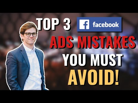 Top 3 Facebook Ads Mistakes You Must AVOID! thumbnail
