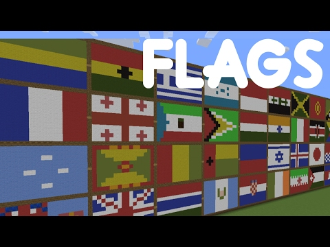 Minecraft  Country Flag Pixel Art  All Countries