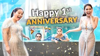 HAPPY FIRST ANNIVERSARY! | IVANA ALAWI