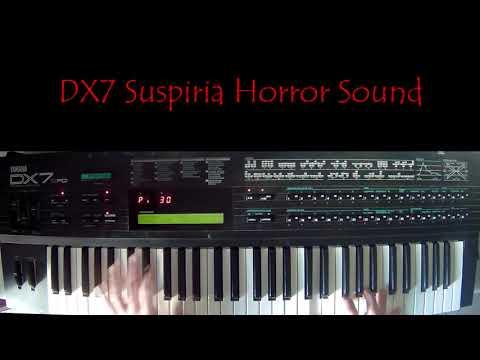 Yamaha DX7 SUSPIRIA Horror Sound