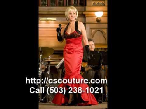 Portland, Oregon Custom Couture Dresses - CSCouture.com