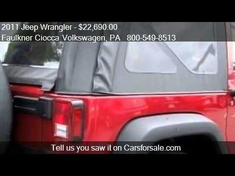 2011 Jeep Wrangler Sport - for sale in Allentown, PA 18103