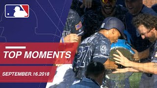 Top 10 Moments around MLB: September 16, 2018