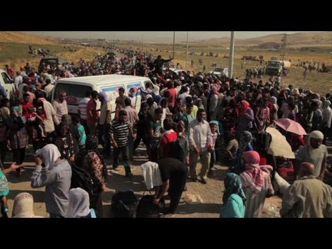 Syrian refugees stream into Iraqi Kurdistan