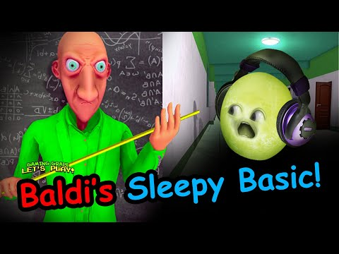 BALDI'S MAD Education!!! | (Baldis Sleepy Basic Mod)