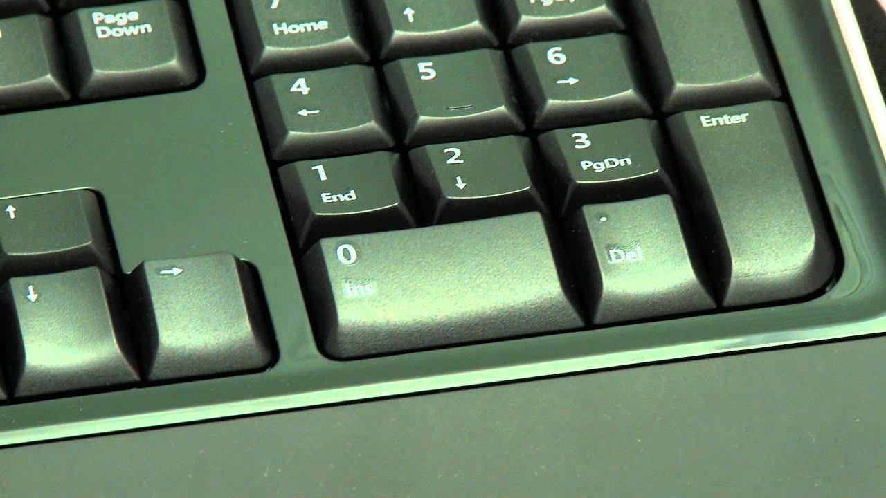 7b5e092cbe2 Microsoft Wireless Keyboard 3000 - test PC World - YouTube