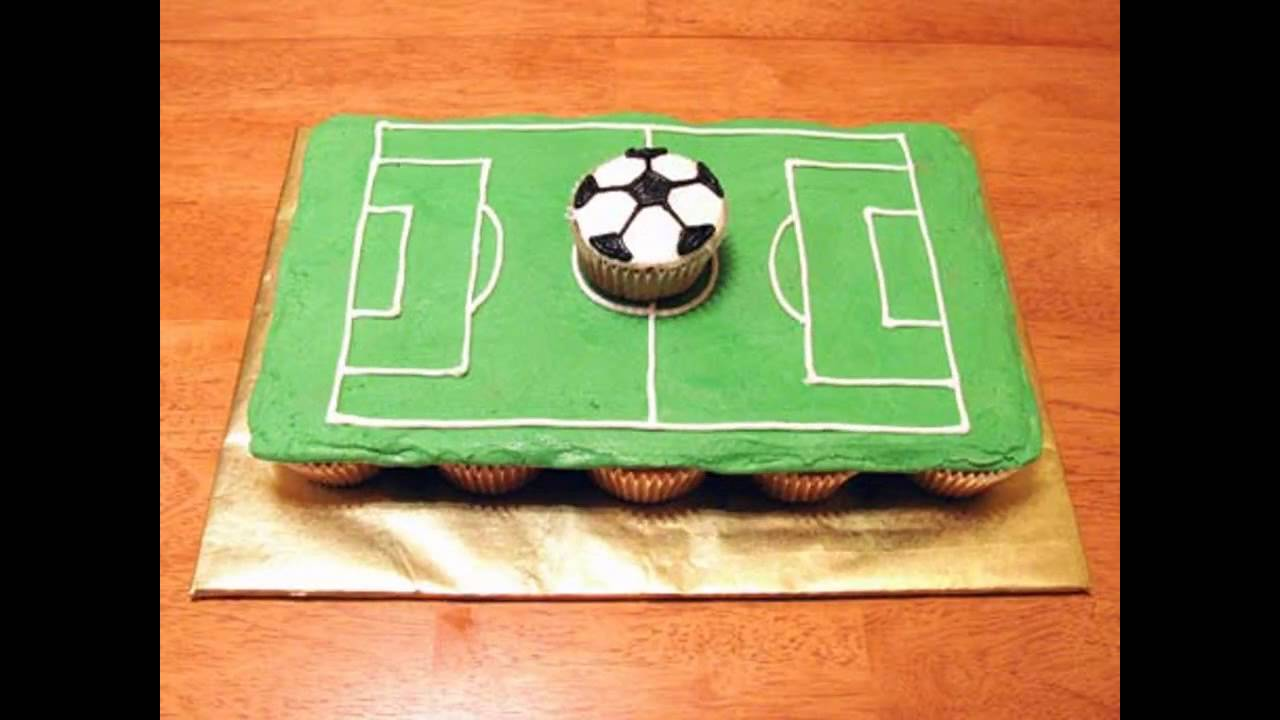 Football Cake Decorating Ideas How To Make : Soccer cake decorations ideas - YouTube