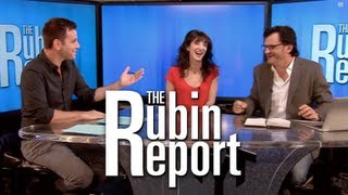 Ben Mankiewicz and Jackie Geary On The Rubin Report thumbnail