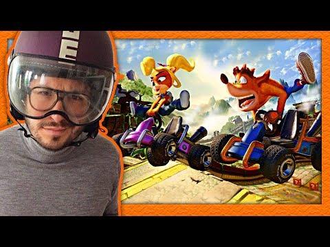 J'ai testé Crash Team Racing Nitro Fueled ! Circuits, multi, avis et gameplay
