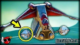 50 INSANE DETAILS on Kashyyyk in Capital Supremacy - Star Wars Battlefront 2 *NEW MAP*