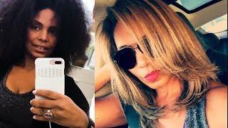Sanaa Lathan Hair Transformation #NappilyEverAfter