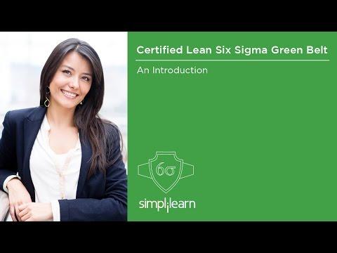 Introduction To Lean Six Sigma Green Belt Certification Training | Simplilearn