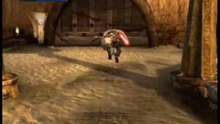 Star Wars The Force Unleashed:  Tatooine level part 1/4