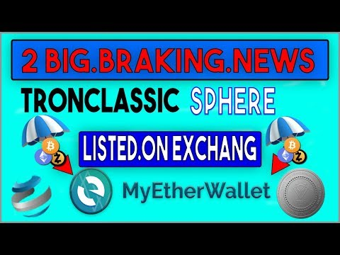 boom big news  tronclassic. and Sphere coin listed on exchaing etherc.io. yobit.net