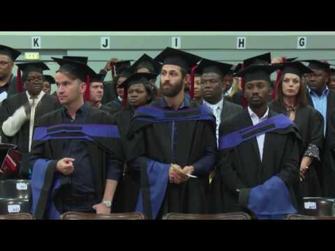 Winter Graduation Ceremony 30 June 2016 (afternoon session)