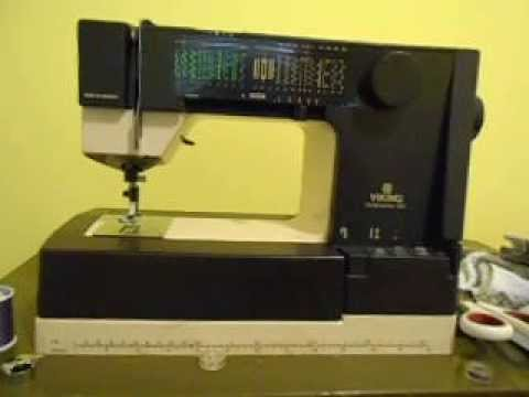 Husqvarna Viking 40 Sewing Machine YouTube Simple Viking Sewing Machine Models