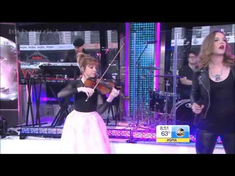 Lindsey Stirling  - Shatter Me Ft Lzzy Hale   GMA Live
