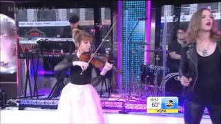 Lindsey Stirling Shatter Me Ft Lzzy Hale GMA Live