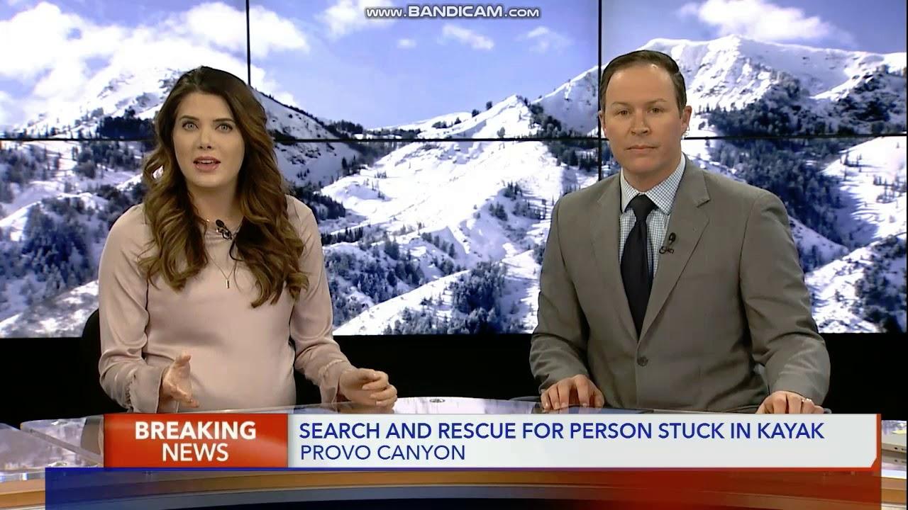 KSTU Fox 13 News Live at 5pm Saturday breaking news cold open February 9,  2019