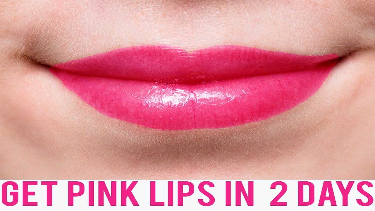 How To Make Baby Lips Pink Naturally