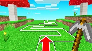 MINECRAFT But The GAME DECIDES Where You WALK!