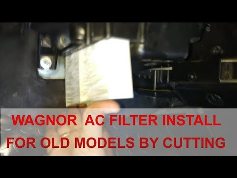 Old Wagon r without Cabin AC Filter, Aftermarket Installation