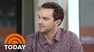nicholas hoult talks about playing jd salinger in rebel in the rye today