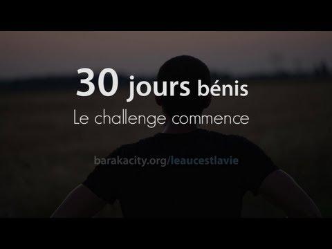 30 jours bénis... Le challenge commence !