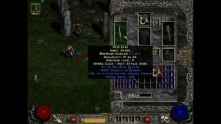 Diablo 2 Gameplay Video - Part 1