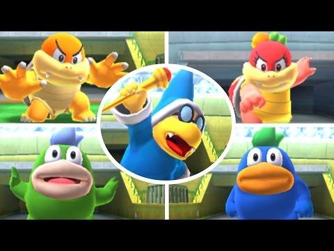 Mario Sports Superstars - All Bosses
