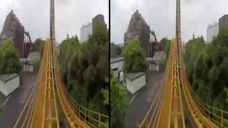 VR Video 360 | Roller Coaster Compilation | Google Cardboard Video 3D SBS Full HD