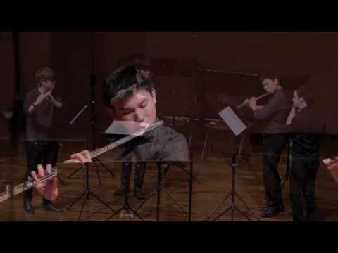 Flutes Parfait Suite for 4 flutes (3.Cioccolata d'amore) ITO Yasuhide