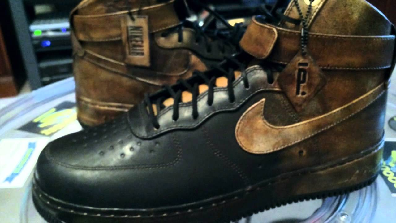 online store 02045 2912b  Nike Air Force 1 Hi NG Comfort LW - Pigalle - Black   Brown - 5-15-14   gregsutton44 - YouTube