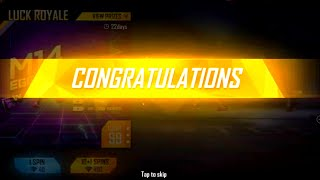 I Got M14 Egg Hunter Skin From New Weapon Royal Free Fire New Weapon Royal - Garena Free Fire