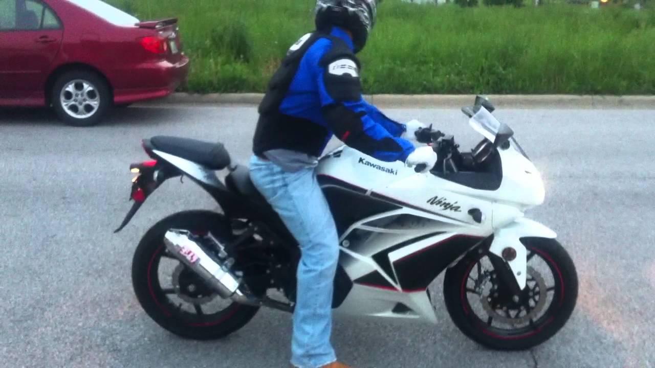 2011 Kawasaki Ninja 250r Yoshimura - YouTube