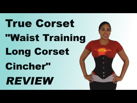 True Corset quot;Waist Training Long Corset Cincherquot; Review  Lucy39;