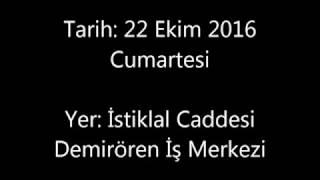 Demirören AVM - Taksim'de pompa montajı...