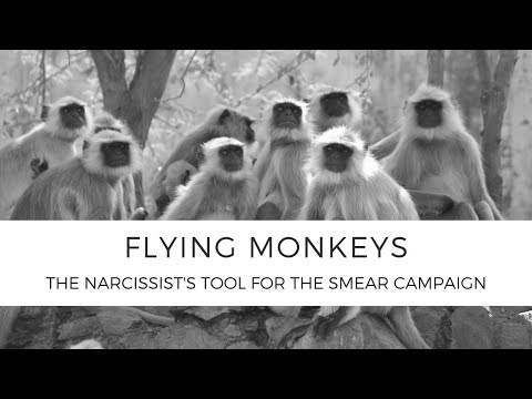 Flying Monkeys (The Narcissist's Tool for the Smear Campaign)