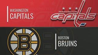 вашингтон - Бостон  НХЛ обзор матчей 16.11.2019г.  Washington Capitals vs Boston Bruins