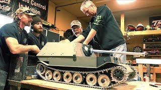"FERDINAND ELEFANT: 1/6 Scale METAL TANK BUILD ""Tanks for 10 Years"" TIGER (P) PT 8 