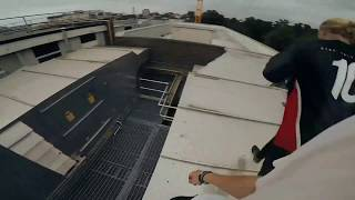 Rooftop Escape POV - CLOSE TO THE SUN STORROR The Professional Team