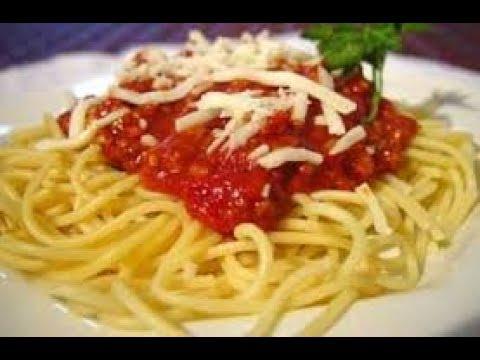 Cách làm Mì Ý sốt cà chua với thịt bằm ngon tuyệt cho cả nhà.