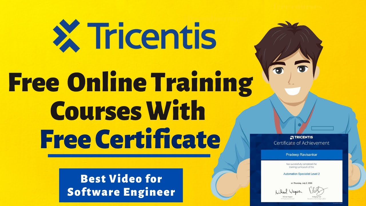 Free Online Training Courses With Certificate | Job Oriented Courses | Automation Free Courses