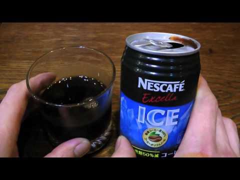 Iced Coffee Nescafe Coffee in Japan