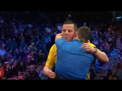 2017 World Series of Darts Finals Round 1 Pipe vs Chisnall