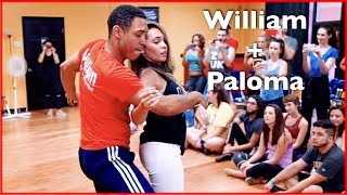 Brazilian Zouk Dance by William Teixeira & Paloma Alves in Atlanta | Master Workshop